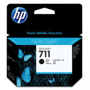HP No.711 Inkjet Cartridge 80ml Black Code CZ133A