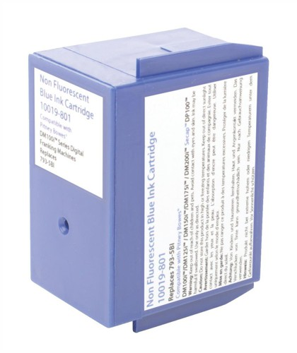 Pitney Bowes Compatible Blue Ink Cartridge DM100 Series