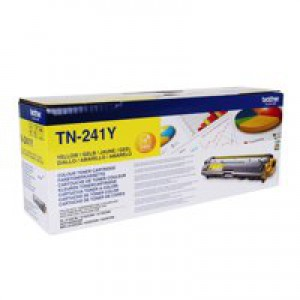 Brother TN241Y Laser Toner Cartridge Yellow