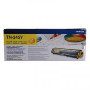 Brother TN245Y Laser Toner Cartridge Yellow