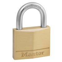 Image for Masterlock Padlock Brass 40mm Ref 140D