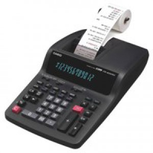Casio Printing Calculator Euro Tax Mains-power 12 Digit 3.0 Lines/sec 213x343x88mm Code FR620TEC