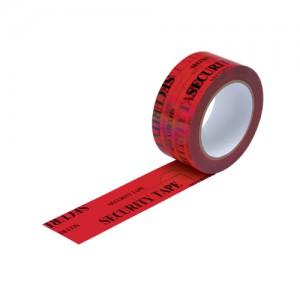 Tamper Evident Secure Tape Red 48mmx50m TSR50