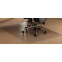 Floortex Chair Mat Anti-slip Protective for Hard Floors Rectangular 1200x1340mm Code FC1213420ERA