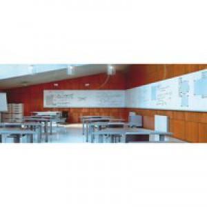 Bi-Office Mag Tile Whiteboard 1150x750