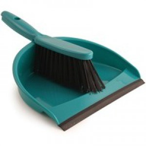 Bentley Dustpan and Brush Set Green Code 8011/G