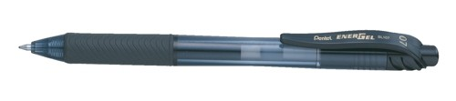 Pentel EnerGel X Rollerball 0.7mm Tip 0.35mm Line Black Ref BL107-A [Pack 12]