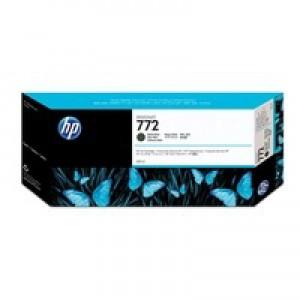 HP 772 Matte Black DesignJet Ink CN635A