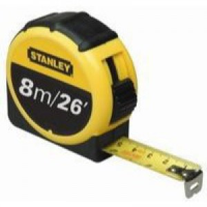 Stanley 8 Metre Tape Measure Code 0-30-656