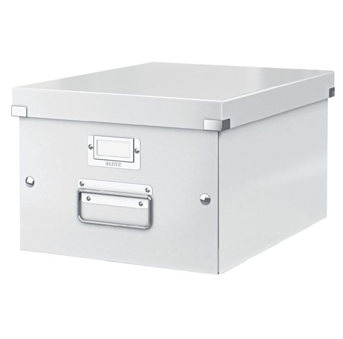 Leitz Click & Store Medium Storage and Transportation Box A4 White