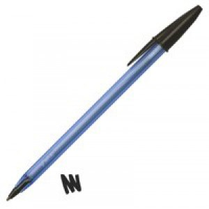 BIC Cristal Soft Ball Pen Black 918518