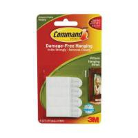 Command Small Picture Hanging Strips pk4