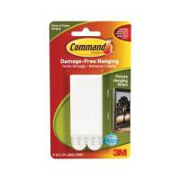 3M Command Adhesive Large Picture Hanging Strips Pack 4