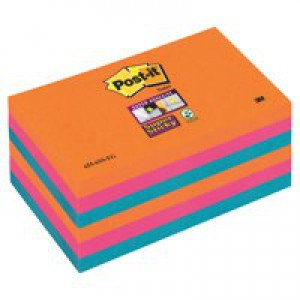Post-it SS EGlow Pk6 6x127 655-6SS-EG