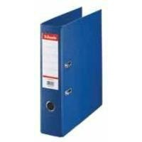 Esselte Pvc L/A File 70mm F/C Blue 48085