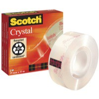 3M Scotch Crystal Tape 19mmx33m Code 6001933