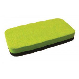 invo Magnetic Drywipe Eraser Lime Green