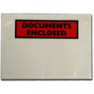 A7 Documents Encl Adh Envelopes Pk100