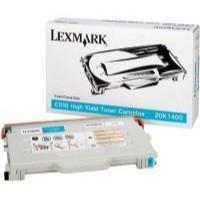Lexmark C510 High Yield Toner Cartridge Cyan 20K1400