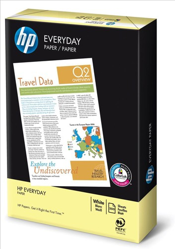 HP Everyday Paper 75gsm A3 White 500 Sheets Box 2500