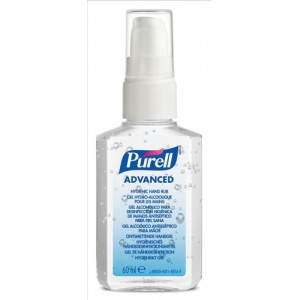 Purell Advanced Hygiene Hand Rub Personal Spray Pump 60ml