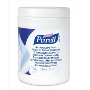 Purell Antimicrobial Wipes Canister