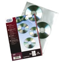 Elba A4 CD DVD Pocket Pack 10 Code 100206995