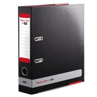 Black n Red by Elba Lever Arch File 80mm Spine A4 Ref 400051488