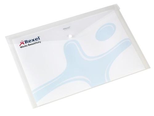 Rexel Carry Folder A3 Polypropylene White Code 16131WH