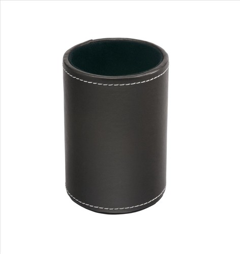 INVO Faux Leather Pen Holder Brown