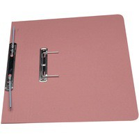 Guildhall Transfer Spring Files 315gsm Capacity 38mm Foolscap Pink