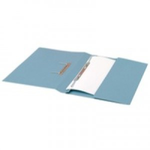Guildhall Super Heavy Weight 420gsm Pocket Spiral File Foolscap Blue