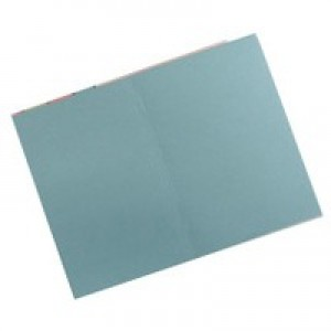 Guildhall Square Cut Folders Manilla 315gsm Foolscap Blue