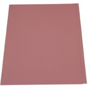 Guildhall Square Cut Folders Manilla 315gsm Foolscap Pink