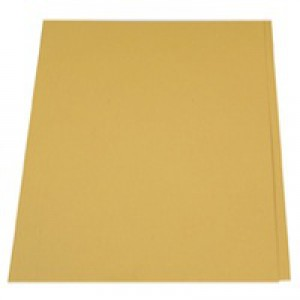 Guildhall Square Cut Folders Manilla 315gsm Foolscap Yellow