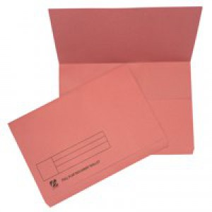 Guildhall Document Wallet Full Flap 315gsm Capacity 35mm Foolscap Pink Code PW2-PNK