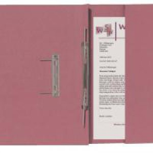 Guildhall Transfer Spiral Pocket File Right Hand Pink
