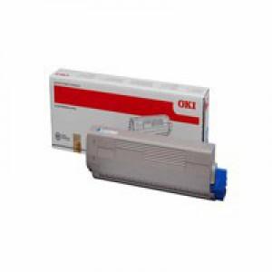 OKI Blk Toner C831 10K 44844508