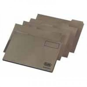 Elba Economy Tabbed Folder Recycled Manilla 170gsm Foolscap Buff