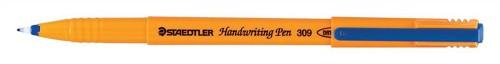 Staedtler 309 Handwriting Pen Fibre Tipped 0.8mm Tip 0.6mm Line Blue Code 309-3