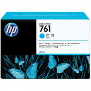 HP 761 Cyan Ink Cartridge CM994A