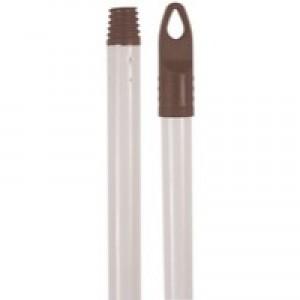 Heavy White 120cm Broom Handle