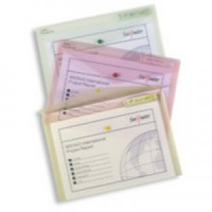 Snopake Polyfile Classic Wallet File Polypropylene A3 Clear Code 11174