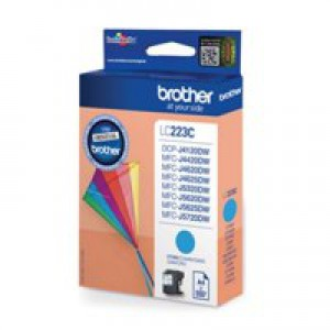 Brother LC223C Inkjet Cartridge Cyan
