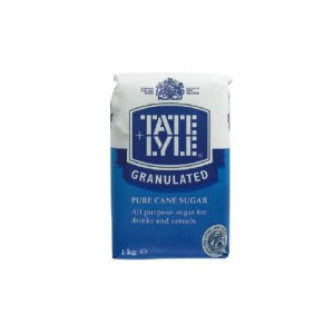 Tate and Lyle Granulated Pure Cane Sugar Bag 1kg