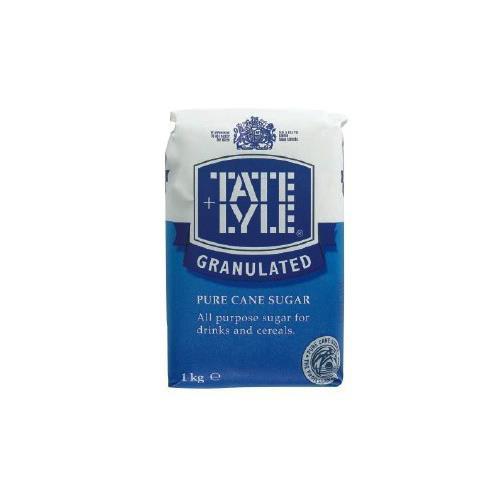 Tate and Lyle Granulated Pure Cane Sugar Bag 1kg