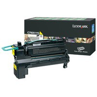 Lexmark C792X1YG Yellow Toner Cartridge