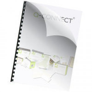 Q-Connect A4 Binding Covers 150mi Pk250