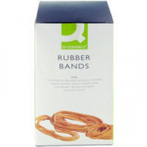 Q-Connect Rubber Bands 500g Assorted