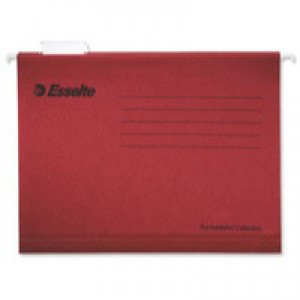 Esselte Pendaflex Economy Suspension File A4 Red Pack of 25 90316